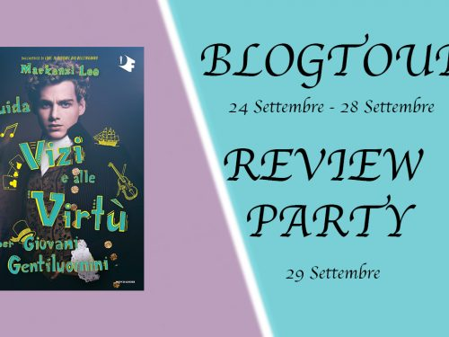 presentazione blog tour e review party